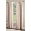 allen + roth Glenellen 95-in L Light Filtering Solid Sand Back Tab Window Curtain Panel