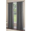 allen + roth Gatton 84-in L Room Darkening Solid Grey Thermal Back Tab Window Curtain Panel