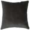 allen + roth 18-in W x 18-in L Grey Rectangular Indoor Decorative Complete Pillow