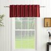 allen + roth Glenellen 18-in L Light Filtering Solid Back Tab Window Curtain Panel