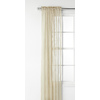 Style Selections Glenellen 84-in L Light Filtering Solid Taupe Rod Pocket Window Sheer Curtain