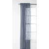 Style Selections Glenellen 84-in L Light Filtering Solid Blue Rod Pocket Window Sheer Curtain