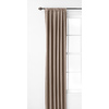 Style Selections Glenellen 84-in L Room Darkening Solid Taupe Thermal Rod Pocket Window Curtain Panel
