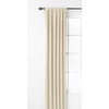 Style Selections Glenellen 84-in L Room Darkening Solid Ivory Thermal Rod Pocket Window Curtain Panel