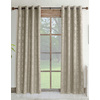 allen + roth Drenham Room Darkening Geometric Thermal Rod Pocket Window Curtain Panel
