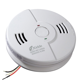 Kidde AC Hardwired Combination Smoke and Carbon Monoxide Detector and Battery Back-Up