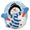 Ginsey Snowman Flurries Toilet Seat Lid Cover