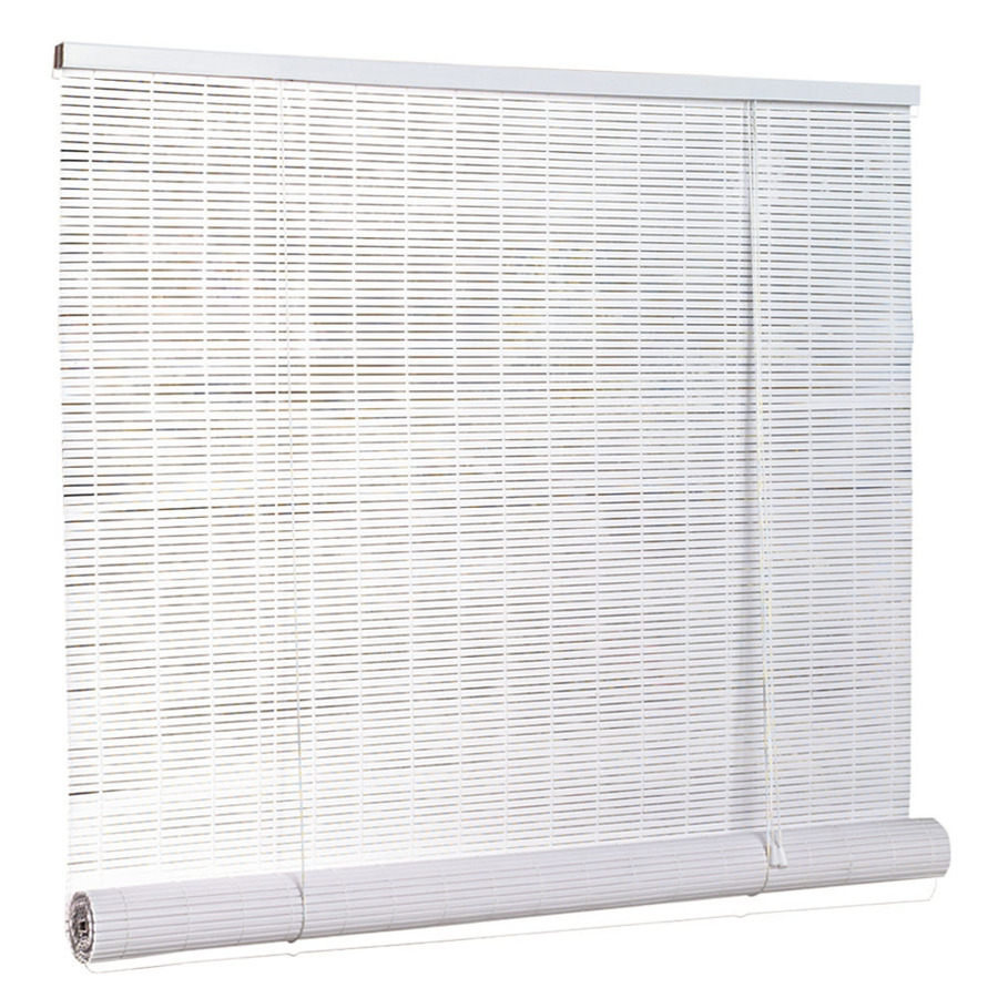 shop style selections white vinyl slat light