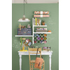 Style Selections 23.6-in W x 1.25-in H x 8-in D Wood Wall Mounted Shelving
