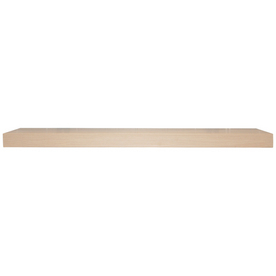 allen + roth 23.6-in W x 1.25-in H x 8-in D Wood Wall Mounted Shelving