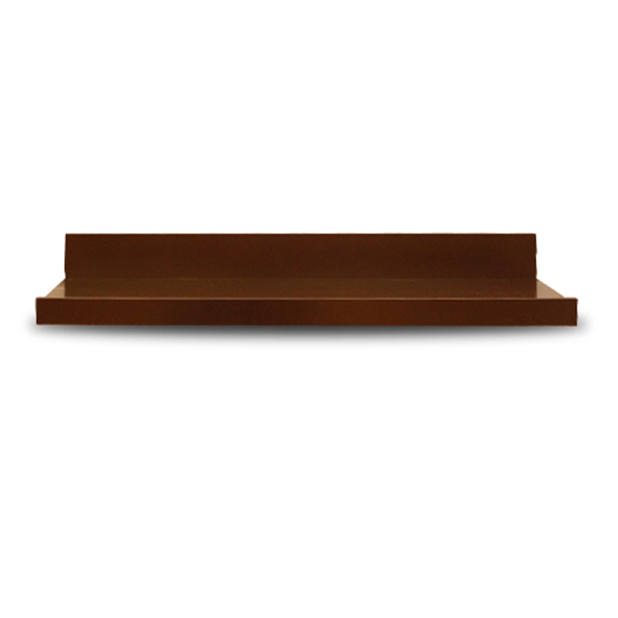 Shop allen + roth 42-in Wood Wall Mounted Shelving at Lowes.com