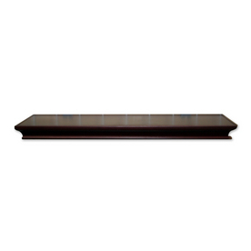 Real Organized 48-in Wood Wall Mounted Shelving