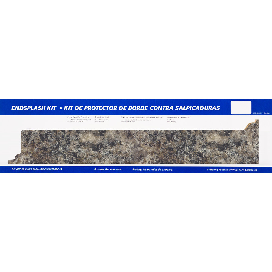 Countertop End Cap : ... fine laminate countertops smoky topaz textured gloss kitchen end cap