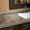 BELANGER Fine Laminate Countertops Antique Mascarello Radiance Kitchen End Cap