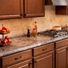 BELANGER Fine Laminate Countertops 25.625-in Antique Mascarello FX Radiance Laminate Kitchen End Cap