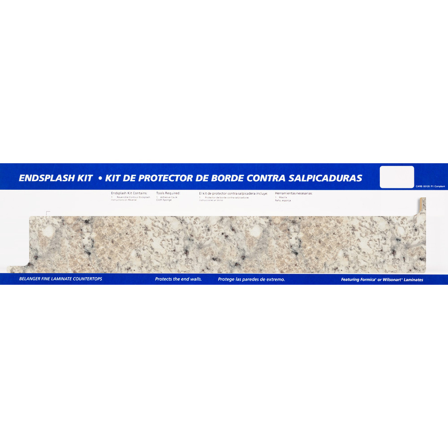 Countertop End Cap : ... Countertops Ouro Romano, Etchings Kitchen End Cap at Lowes.com