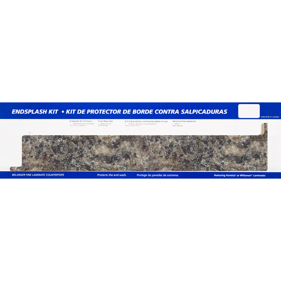 Countertop End Cap : ... Countertops Perlato Granite, Etchings Kitchen End Cap at Lowes.com