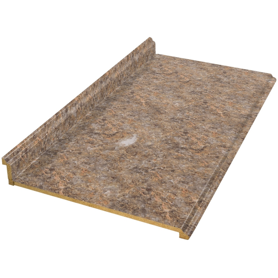 Shop vti fine laminate countertops wilsonart 12 ft for Lowes countertops