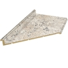 VT Dimensions Formica 6-ft Ouro Romano Etchings Miter Laminate Kitchen Countertop