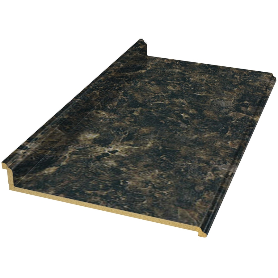 Shop Belanger Fine Laminate Countertops Formica 6 Ft Labrador Granite Etchings Straight Laminate