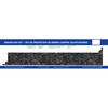 VT Dimensions 0.75-in W x 4.25-in H Midnight Stone Etchings Laminate Ogee Kitchen Side Splashes