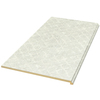 VT Dimensions Wilsonart 6-ft Gesso Tracery Fine Velvet Texture Straight Laminate Kitchen Countertop