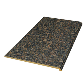 Shop vt dimensions formica 4 ft autumn brown granite for Granite countertop width
