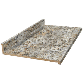 Shop vt dimensions formica 10 ft 9291 46 geriba gold for Granite countertop width