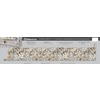 VT Dimensions 1.75-in W x 5.25-in H Geriba Gold Granite Etchings Laminate Waterfall Kitchen Side Splashes