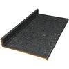 VTI Fine Laminate Countertops Wilsonart 12-ft Smoky Topaz Textured Gloss Straight Laminate Kitchen Countertop