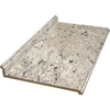 BELANGER Fine Laminate Countertops Formica 8-ft Ouro Romano-Etchings Straight Laminate Kitchen Countertop