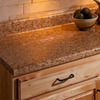 VT Dimensions 0.75-in W x 5.25-in H Milano Amber Quarry Laminate Waterfall Kitchen Side Splashes