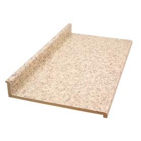 Shop BELANGER Fine Laminate Countertops 4 Ft Milano Quartz Straight Carpet At