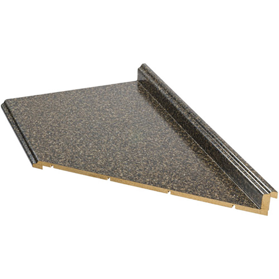 Shop vti fine laminate countertops 10 ft labrador granite for Lowes countertops