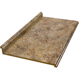shop belanger laminate countertops 4 ft madura gold