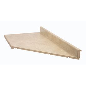 BELANGER Fine Laminate Countertops 10-ft Travertine Miter-Cut Laminate Countertop