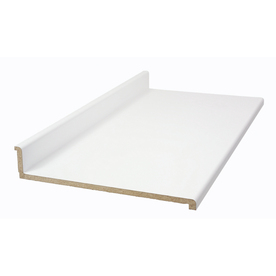 BELANGER Fine Laminate Countertops Formica 6-ft White Matte Straight Laminate Kitchen Countertop
