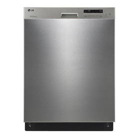 LG 50-Decibel Built-In Dishwasher with Hard Food Disposer (Stainless Steel) (Common: 24-in; Actual 23.75-in) ENERGY STAR