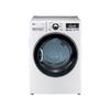 LG 7.3 cu ft Electric Dryer (White)