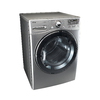 LG 7.3-cu ft Stackable Electric Dryer Steam Cycles (Graphite Steel)