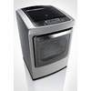 LG 7.3-cu ft Electric Dryer Steam Cycles (Graphite Steel)