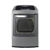 LG 7.3-cu ft Gas Dryer with Steam Cycles (Graphite Steel)