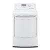 LG 7.3 cu ft Reversible Side Swing Electric Dryer (White)