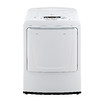 LG 7.3-cu ft Electric Dryer (White)