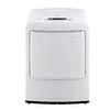 LG 7.3-cu ft Gas Dryer (White)