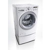 LG 4-cu ft High-Efficiency Stackable Front-Load Washer (White) ENERGY STAR
