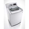 LG 5-cu ft High-Efficiency Top-Load Washer Steam Cycle (White) ENERGY STAR