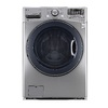 LG 4.3-cu ft High-Efficiency Stackable Front-Load Washer with Steam Cycle (Graphite Steel) ENERGY STAR