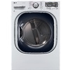 LG 7.4-cu ft Stackable Electric Dryer with Steam Cycles (White) ENERGY STAR
