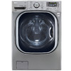 LG 4.5-cu ft High-Efficiency Stackable Front-Load Washer with Steam Cycle (Graphite Steel) ENERGY STAR